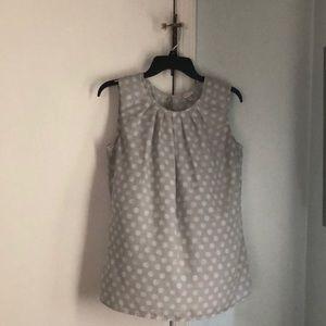 NWOT sleeveless blouse